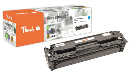 Peach  Tonermodul cyan kompatibel zu Hersteller-ID: No. 128A, CE321A