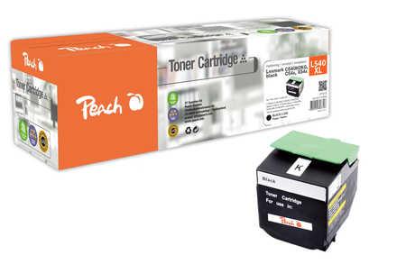 Peach  Tonermodul schwarz kompatibel zu Hersteller-ID: C540H2KG, C54x, X54x