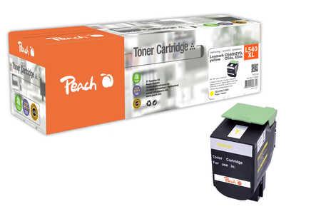 Peach  Tonermodul gelb kompatibel zu Hersteller-ID: C540H2Yg, C54x, X54x