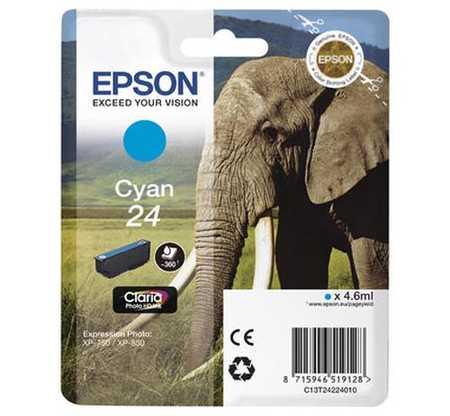 Original  Tintenpatrone cyan Hersteller-ID: No. 24 c, T2422