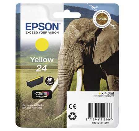 Original  Tintenpatrone gelb Hersteller-ID: No. 24 y, T2424