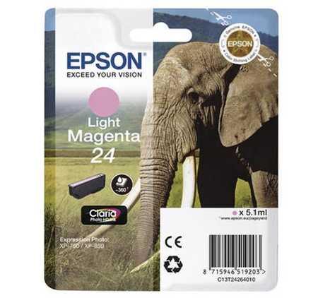 Original  Tintenpatrone light magenta Hersteller-ID: No. 24 lm, T2426