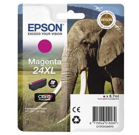 Original  Tintenpatrone XL magenta Hersteller-ID: No. 24XL m, T2433