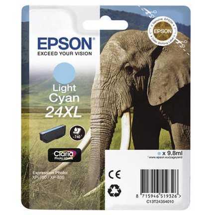 Original  Tintenpatrone XL light cyan Hersteller-ID: No. 24XL lc, T2435