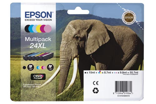 Original  Multipack Tinte HY 6-farbig Hersteller-ID: No. 24XL, T2438