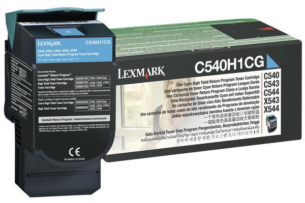 Original  Tonerpatrone schwarz Hersteller-ID: C540H1KG, C54x, X54x