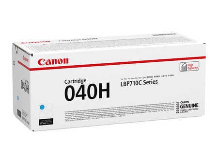 Original  Tonerpatrone cyan Hersteller-ID: CRG-040H c, 0459C001