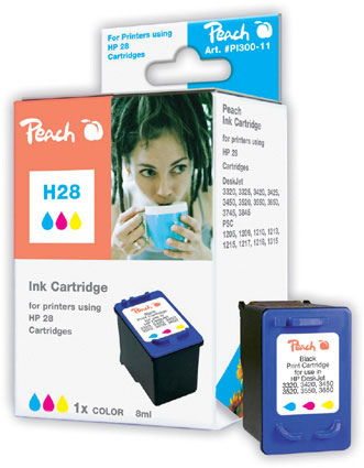 Peach  Druckkopf color kompatibel zu Hersteller-ID: No. 28, C8728AE