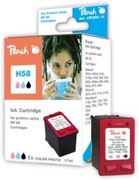 Peach  Druckkopf color photo kompatibel zu Hersteller-ID: No. 58, C6658A
