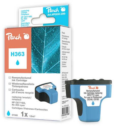 Peach  Tintenpatrone cyan kompatibel zu Hersteller-ID: No. 363, C8771EE