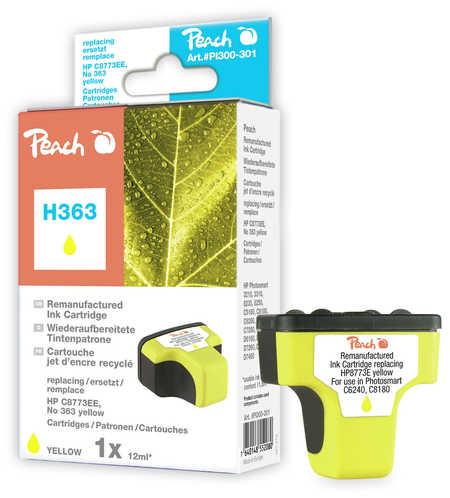 Peach  Tintenpatrone gelb kompatibel zu Hersteller-ID: No. 363, C8773EE