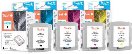 Peach  Spar Pack Tintenpatronen kompatibel zu Hersteller-ID: No. 88XL