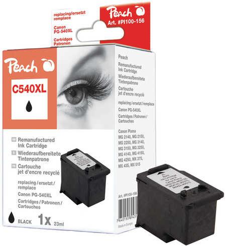 Peach  Druckkopf XL schwarz kompatibel zu Hersteller-ID: PG-540XL