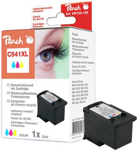 Peach  Druckkopf XL color kompatibel zu Hersteller-ID: CL-541XL