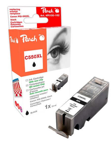 Peach  XL-Tintenpatrone schwarz kompatibel zu Kompatibel mit PGI-550, PGI-550PGBK XL